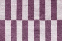 Multi-colored strepen op de stof Kleurrijke traditionele Peruviaanse stijl, de oppervlakte van de close-updeken royalty-vrije stock afbeelding