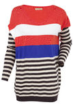 Multi-colored sweater Stock Photo