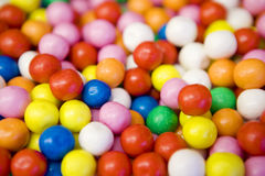 Multi-colored sweets Stock Images