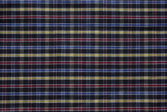 Multi colored textile. Abstract striped multi colored textile background Stock Photography