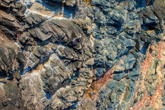 Multi-colored texture of natural stone Stock Image