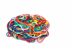 Multi-colored thread Stock Image