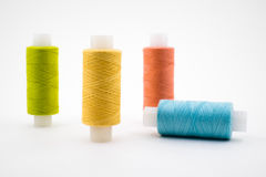 Multi-colored threads Royalty Free Stock Photography