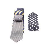 Multi-colored ties. Royalty Free Stock Photo