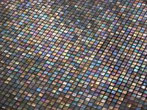 Multi colored tile Stock Photo