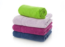 Free Multi-colored Towels Royalty Free Stock Images - 72484199