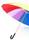 Multi-colored umbrella Stock Photos