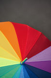 Multi-colored umbrella Royalty Free Stock Images