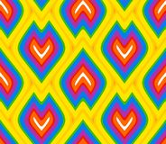 Rainbow flame scales wallpaper Stock Photo