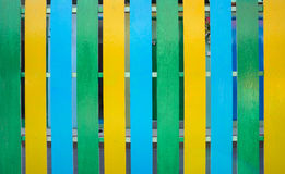 Multi colored wooden Royalty Free Stock Images