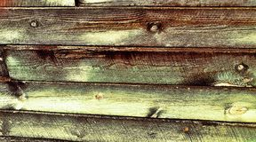 Multi colored wooden wall background Stock Photo