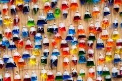 Multi-colored zakken. Royalty-vrije Stock Afbeelding