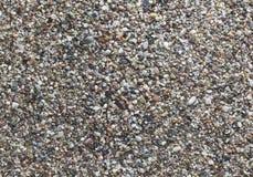 Multi-colored zand van de kust Royalty-vrije Stock Afbeeldingen