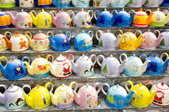 Multi colors ceramic Stock Photo