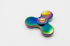 Multi-colors fidget aluminum spinner Stock Photography