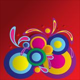 Red gradien abstract background celebrate. Multi colors and Red gradien abstract background celebrate vector illustration