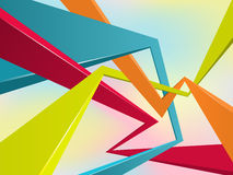 Multi-colour abstraction background Stock Photo