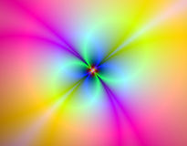 Multi colour artistic design. Fractal, variety of colours Royalty Free Stock Photo
