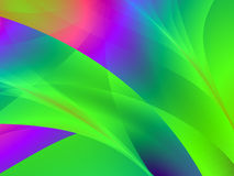 Multi colour artistic design. Fractal, variety of colours and shapes Stock Image
