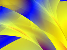 Multi colour artistic design. Fractal, variety of colours and shapes Stock Photography