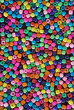 Multi colour beads Stock Image