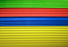 Multi colour paper background. Multi colour of roll paper background royalty free stock photo