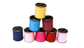 Multi colour threads Stock Photography