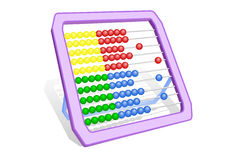 Multi-coloured abacus Stock Images