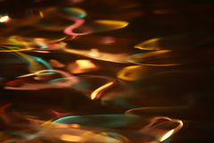 Multi-coloured abstraction, Reflexion in water Royalty Free Stock Images
