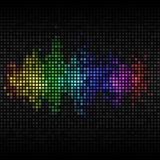 Multi-coloured background Stock Photography
