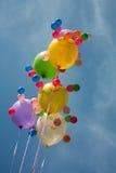 Multi-coloured ballons Royalty-vrije Stock Foto's