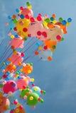 Multi-coloured ballons Stock Foto's