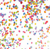 Multi-coloured balloons Stock Image