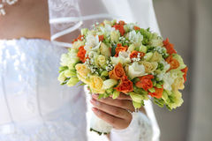 Multi-coloured bouquet 1. Royalty Free Stock Photos