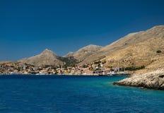 Free Multi-coloured Buildings Of Halki Island (Chalki) Stock Image - 58048321
