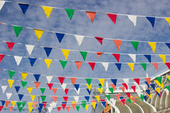 Multi-Coloured Bunting Stock Image