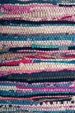 Multi-coloured carpet Stock Image