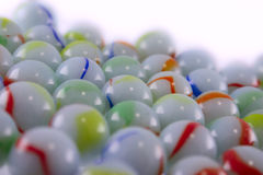 Multi-coloured ceramic balls Royalty Free Stock Image