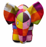 Multi coloured childs elephant toy Stock Photography