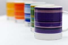 Cups Shallow Depth of Field royalty free stock photography