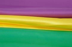 Multi-coloured fabrics Royalty Free Stock Photo