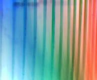 Multi-coloured gestreepte achtergrond stock illustratie