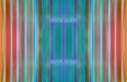 Multi-coloured golvende gestreepte achtergrond Stock Foto