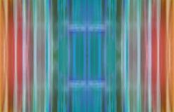 Multi-coloured golvende gestreepte achtergrond Royalty-vrije Stock Fotografie
