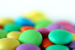 Multi-coloured goodies Stock Photo