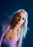 Multi-coloured haar Royalty-vrije Stock Foto