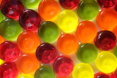 Multi-coloured hardy candy background Stock Photos