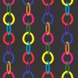 Multi-coloured kringen stock illustratie