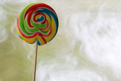 Multi coloured lollypop Royalty Free Stock Photo