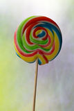 Multi coloured lollypop Royalty Free Stock Photos